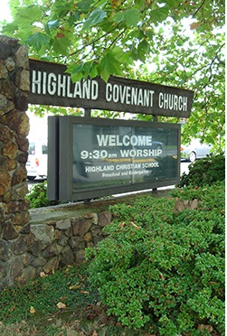 Give to Highland Covenant Church